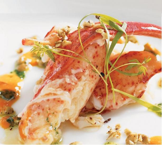 Deconstructed Lobster Bisque