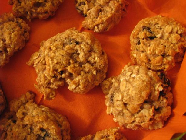 Fat Free Oatmeal Raisin Cookies