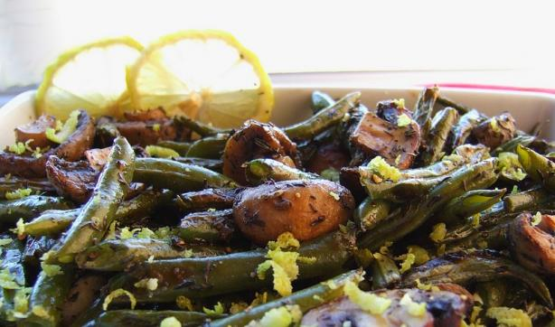 Back to Basics Roasted Green Beans