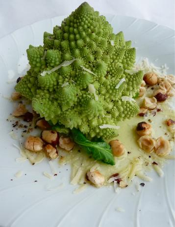 The Wedding Bouquet Vegetable Platter or Romanesco Romano!