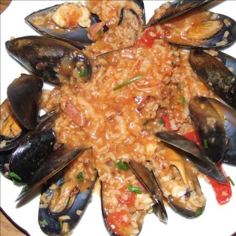 Spicy Seafood Jambalaya