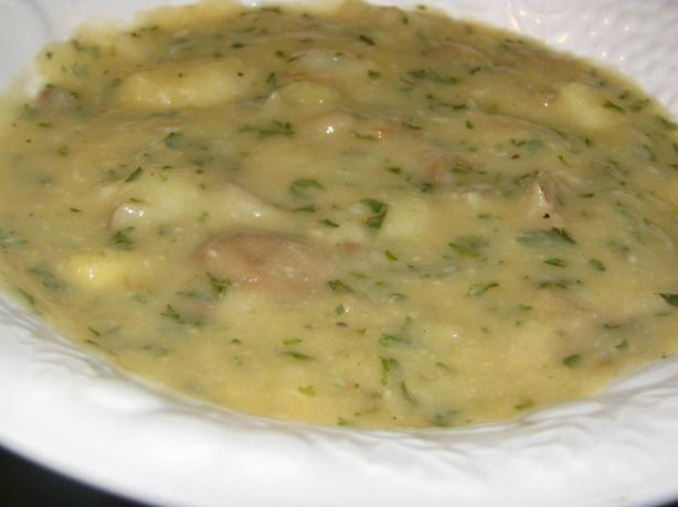 Swiss Potato and Cheese Soup
