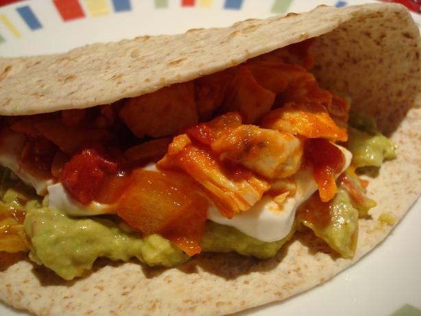 Mexican Flag Tacos