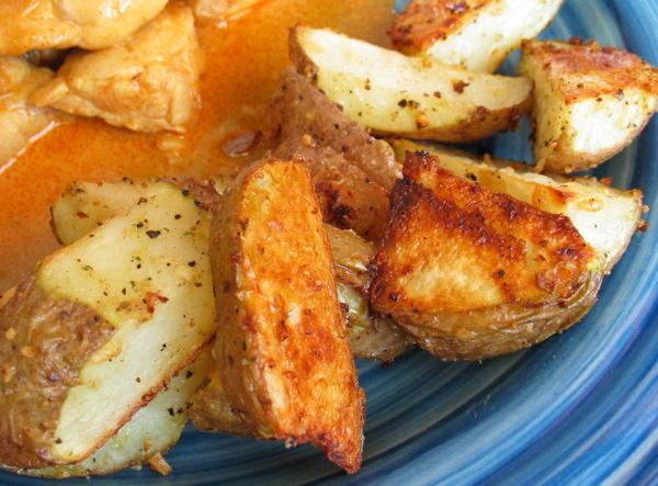 Ridiculously Easy Oven Potato Wedges
