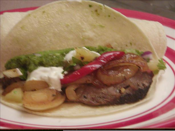 Fabulous Steak Fajitas