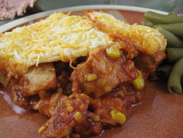 Chicken Enchilada Casserole OAMC
