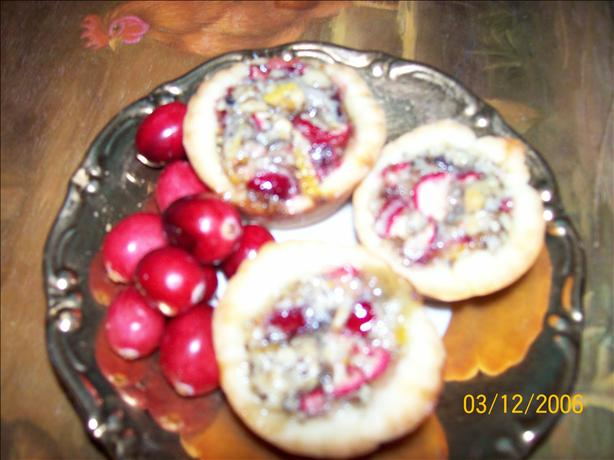Mini Cranberry Shortbread Tarts
