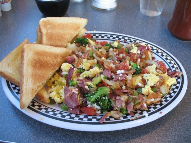 Fleetwood Diner Hippie Hash (Interpretation)