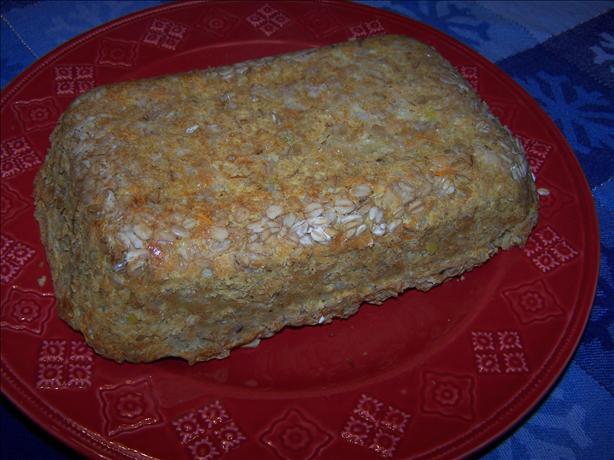 Red Lentil Loaf