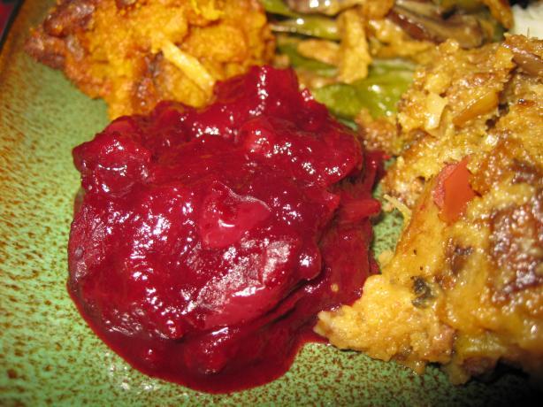 Diabetic Cranberry Sauce