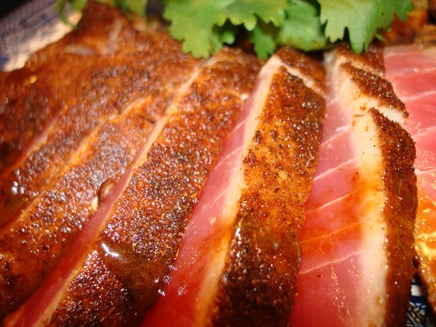 Red Chile Seared Tuna With Teriyaki Glaze