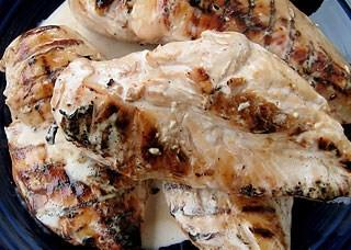 Brined Chicken With Big Bob's White BBQ Sauce