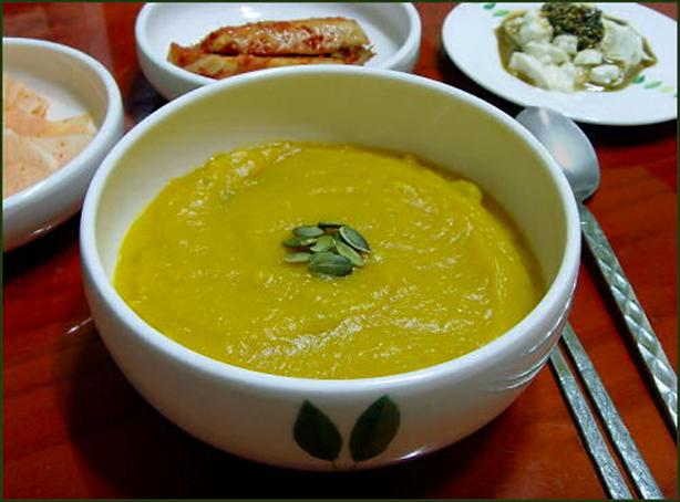 Korean Pumpkin Soup