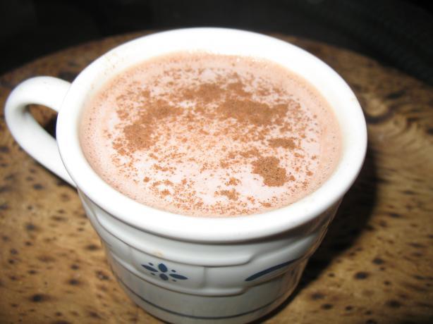Simple Honey Hot Chocolate