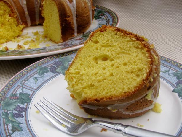 Lemon Supreme Pound Cake