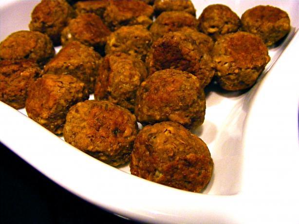 Mini Lentil Meatballs