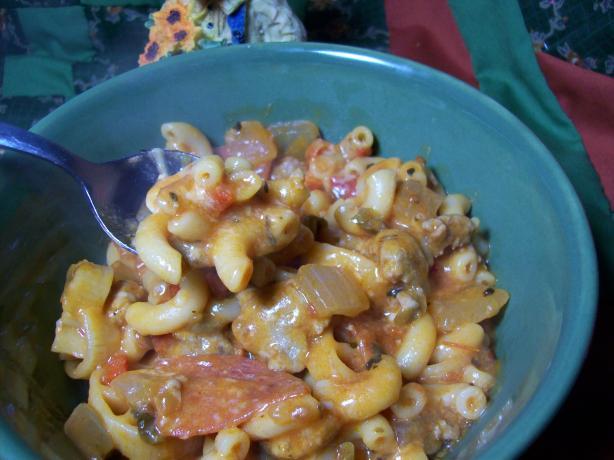 Cheesy Sausage Casserole
