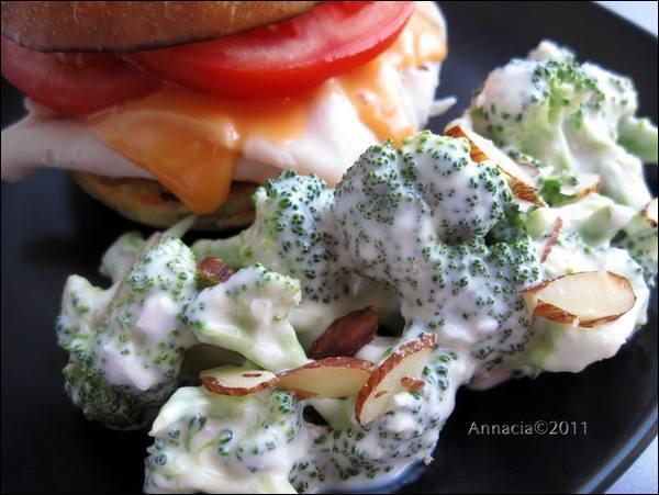 Broccoli-Almond Salad