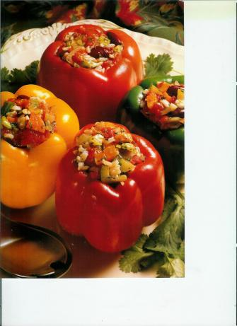 Uncle Bill's Vegetarian Stuffed Peppers