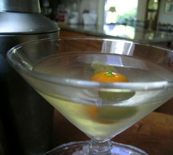 Tre's Dirty Three Martini