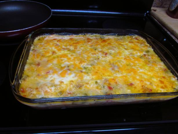 Cheesy Shrimp-and-Grits Casserole