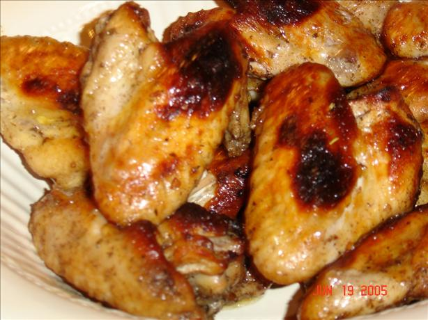 Cinnamon Honey Wings