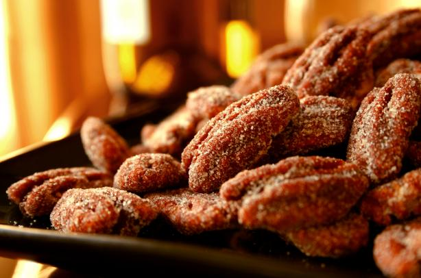 Honey-Chipotle Pecans