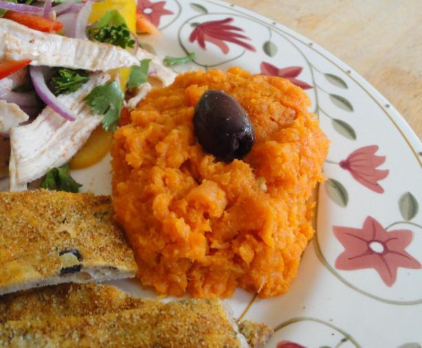 Tunisian Mashed Carrot Salad