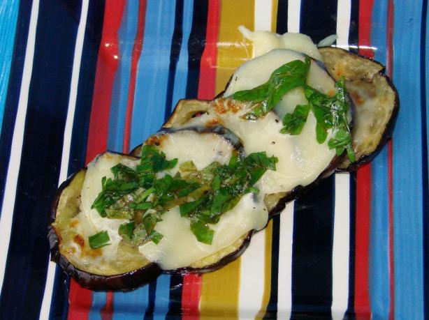 Broiled Basil Eggplant