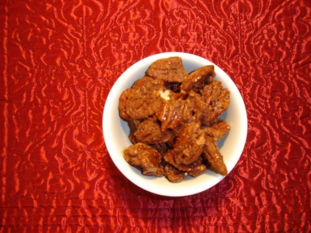 Sweet and Salty Cinnamon Nuts