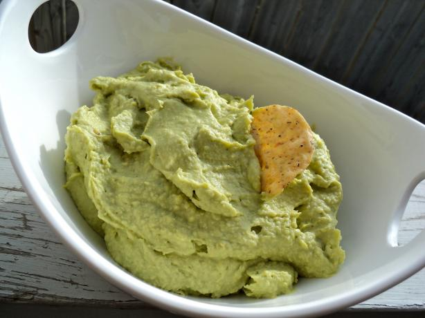 Green Avocado Hummus