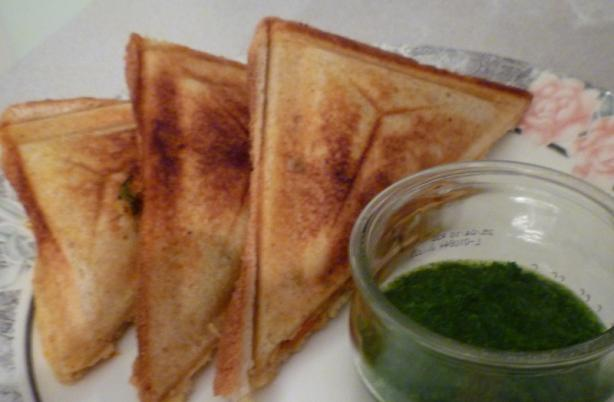 Toasted Sandwiches Indian Style