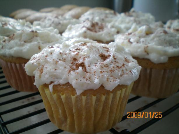 Chai Latte Cupcakes (From Betty Crocker)