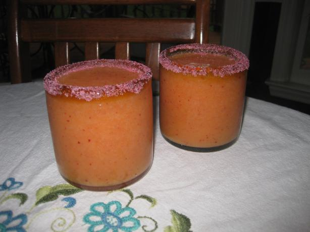 Frozen Peach Daiquiri