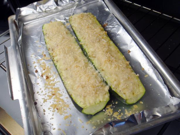 Baked Zucchini With Parmesan