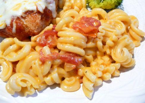 Macaroni, Tomato and Cheese