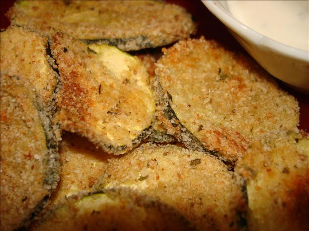 Breaded 'n Baked Zucchini Chips
