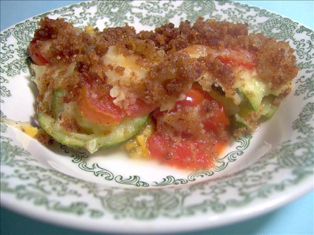 Tomato/Zucchini Casserole
