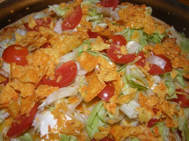 Turkey Taco Pizza