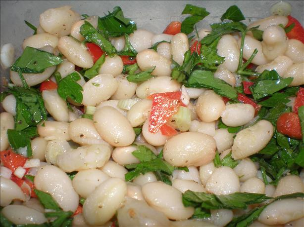 Simple Italian Bean Salad
