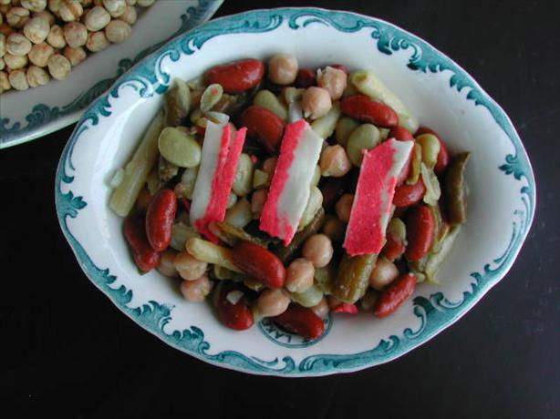 Hot Five Bean Salad