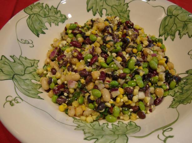 Southwest Four Bean Salad Supreme