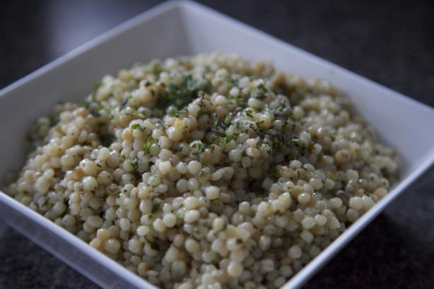 Herbed Israeli Couscous
