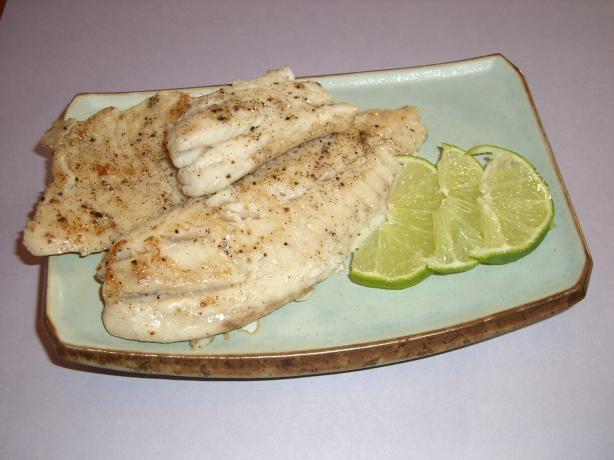 Tilapia With a Touch of Lime