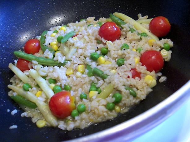 Easy Brown Rice Pilaf