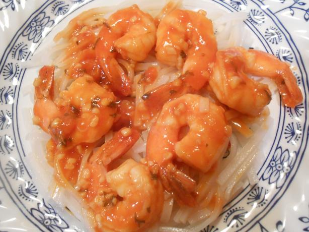 The Best Garlic Shrimp Ever