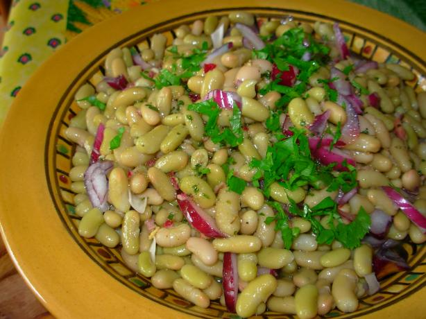 White Bean Salad With Lemon and Cumin