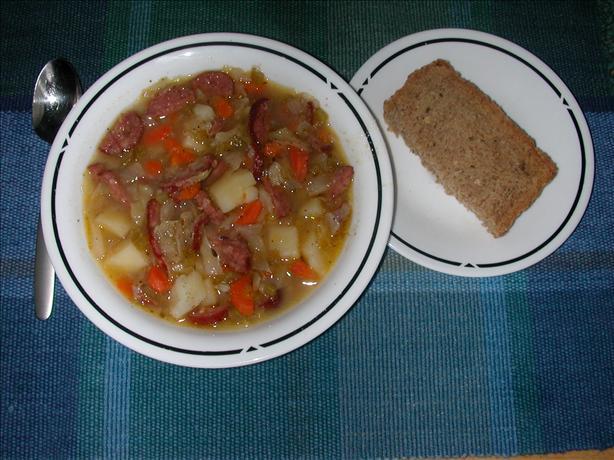 Polish Sausage (Kielbasa) Soup