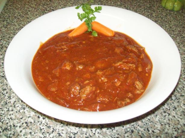 No Beans About It, Beefy Chili