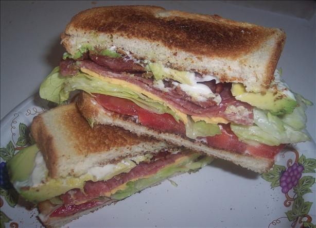 BLT & Salami Sandwich